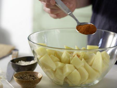 Hähnchen nach spanischer Art: Zubereitungsschritt 7