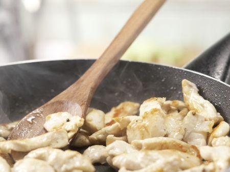 Hähnchen-Spargel-Salat: Zubereitungsschritt 4