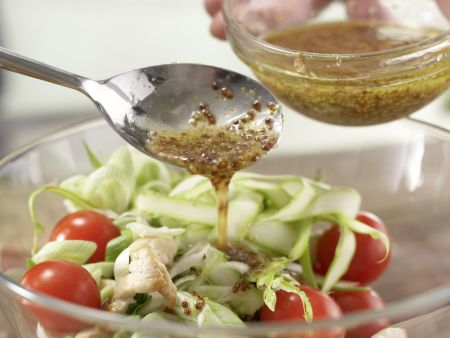 Hähnchen-Spargel-Salat: Zubereitungsschritt 6