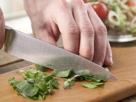 Hähnchen-Spargel-Salat: Zubereitungsschritt 7