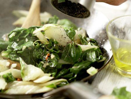 Hähnchenbrust mit Cashewkruste: Zubereitungsschritt 11