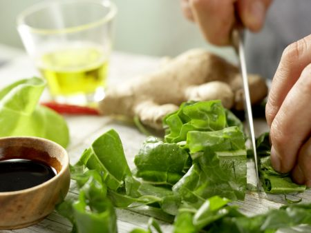 Hähnchenbrust mit Cashewkruste: Zubereitungsschritt 4