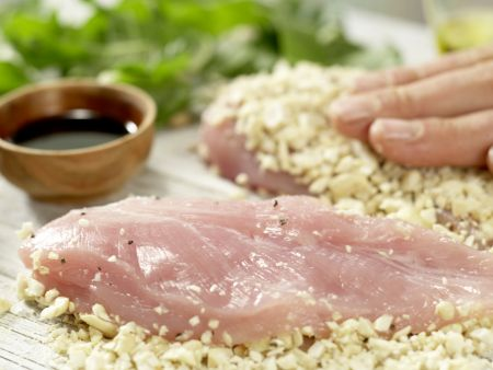 Hähnchenbrust mit Cashewkruste: Zubereitungsschritt 7