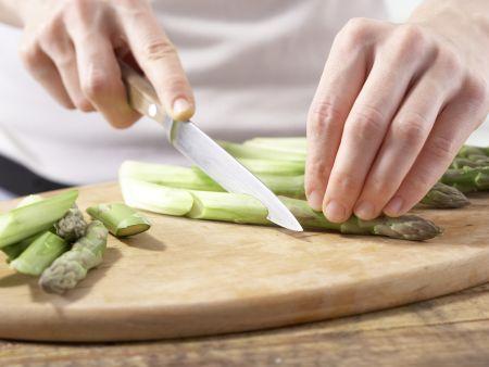 Hähnchenbrust mit Spargel: Zubereitungsschritt 3