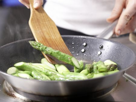 Hähnchenbrust mit Spargel: Zubereitungsschritt 4