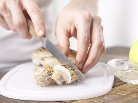Hähnchenbrust mit Spargel: Zubereitungsschritt 7