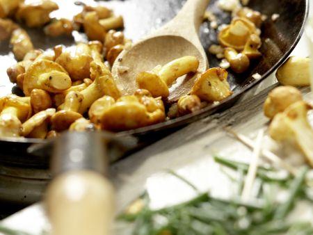 Hähnchenbrust mit Ziegenkäse: Zubereitungsschritt 10