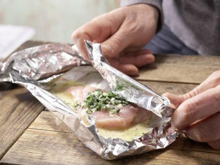 Hähnchenbrustfilet in Folie gegart: Zubereitungsschritt 6