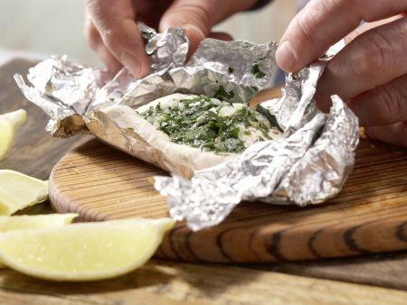 Hähnchenbrustfilet in Folie gegart: Zubereitungsschritt 9