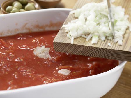 Hähnchenbrustfilet mit Olivenkruste: Zubereitungsschritt 2