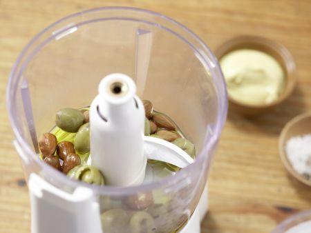 Hähnchenbrustfilet mit Olivenkruste: Zubereitungsschritt 3