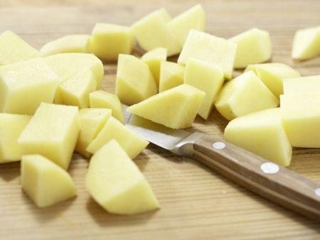 Hähnchenbrustfilet mit Olivenkruste: Zubereitungsschritt 5