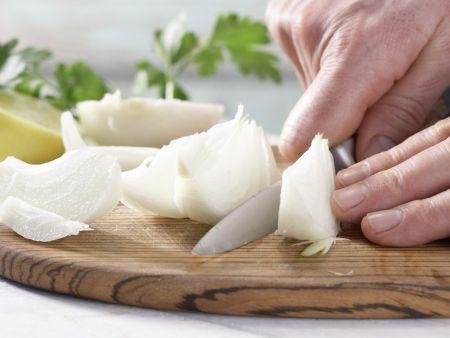 Hähnchenfilet auf arabische Art: Zubereitungsschritt 2