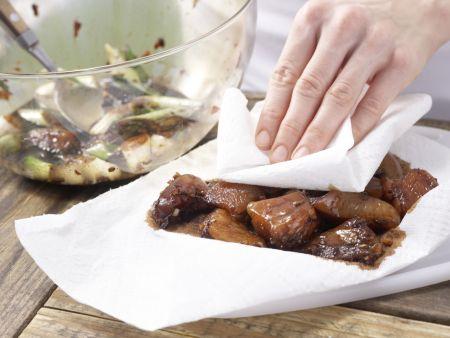 Hähnchenfilet mit Chinakohl: Zubereitungsschritt 7