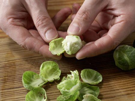 Hähnchenfilet auf Couscoussalat: Zubereitungsschritt 1