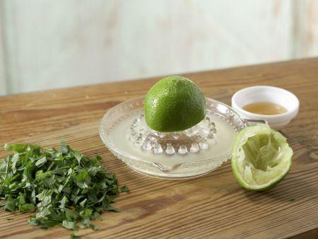 Hähnchenfilet auf Couscoussalat: Zubereitungsschritt 8
