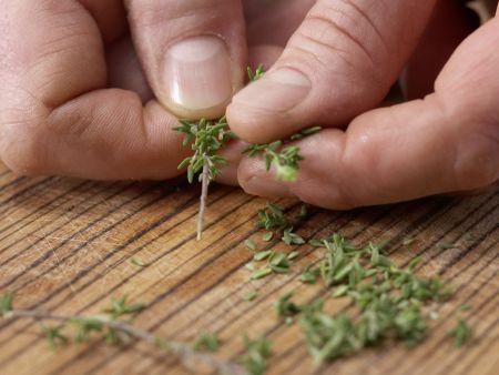 Hähnchengeschnetzeltes: Zubereitungsschritt 3