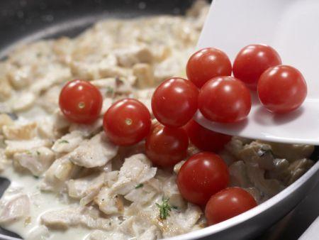 Hähnchengeschnetzeltes: Zubereitungsschritt 7