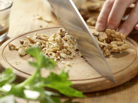 Hähnchensalat mit Trauben: Zubereitungsschritt 4