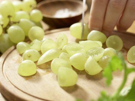 Hähnchensalat mit Trauben: Zubereitungsschritt 5