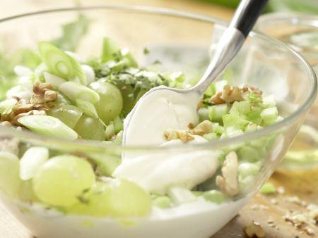 Hähnchensalat mit Trauben: Zubereitungsschritt 8