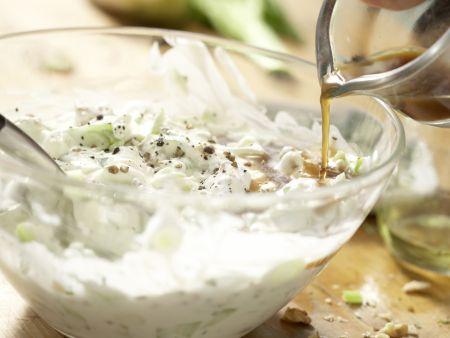 Hähnchensalat mit Trauben: Zubereitungsschritt 9