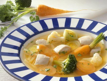 Rezept: Hähnchentopf mit Gemüse