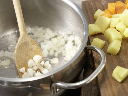 Häschens Hähnchen-Curry: Zubereitungsschritt 5