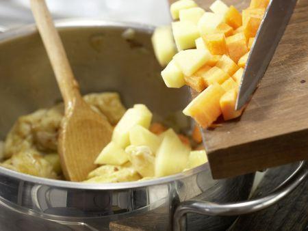 Häschens Hähnchen-Curry: Zubereitungsschritt 6