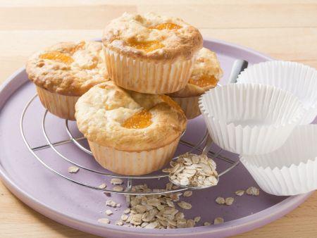 Haferflocken-Muffins mit Obst