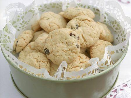 Haferflocken-Rosinen-Kekse