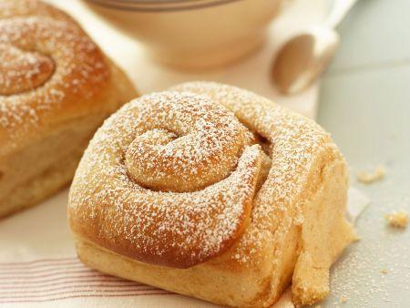 Rezept: Hefeschnecken aus Mallorca (Ensaimades)