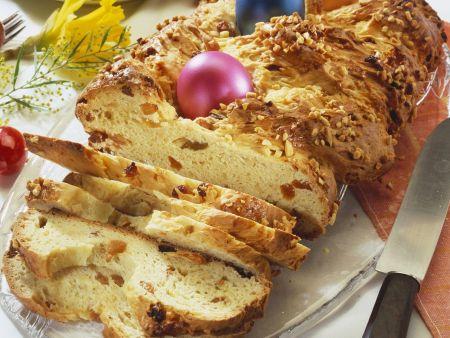 Hefezopf zu Ostern