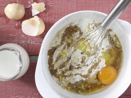 Heidelbeer-Bananen-Muffins: Zubereitungsschritt 2