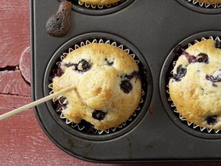 Heidelbeer-Bananen-Muffins: Zubereitungsschritt 6