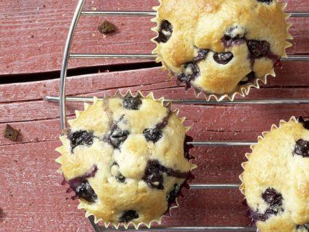Heidelbeer-Bananen-Muffins: Zubereitungsschritt 7