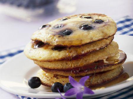 Rezept: Heidelbeer-Pancakes