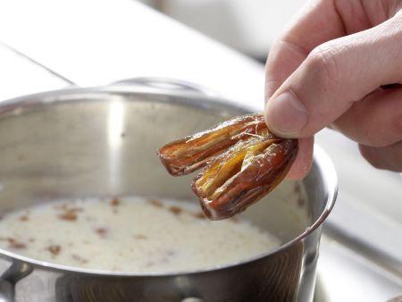Heiße Mandelmilch: Zubereitungsschritt 2
