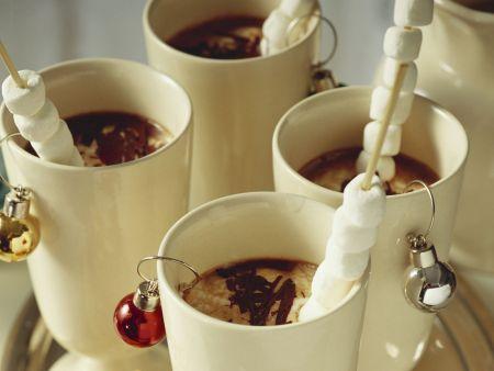 Rezept: Heiße Schokolade mit Marshmellows