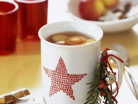 Heiße Weihnachtsbowle