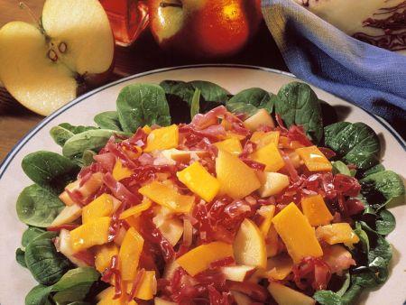 Herbstllicher Salat