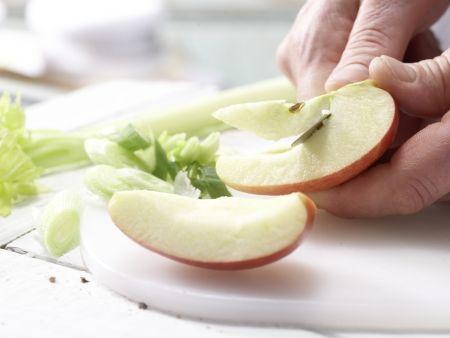 Herings-Bohnen-Salat: Zubereitungsschritt 3