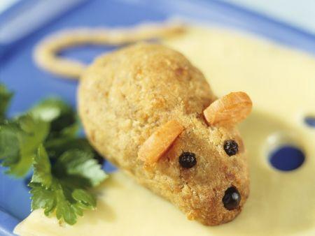 Herzhafter Maus-Keks