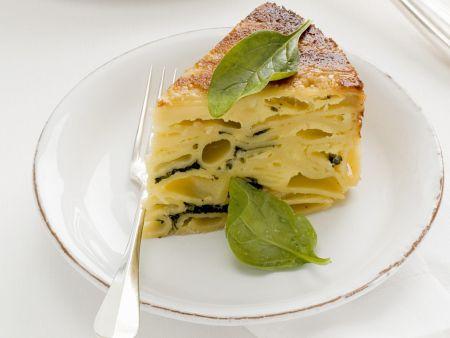 Rezept: Herzhafter Pastakuchen