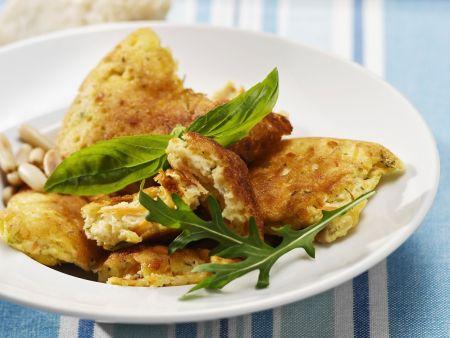 Herzhafter Schmarrn mit Karotte und Parmesan