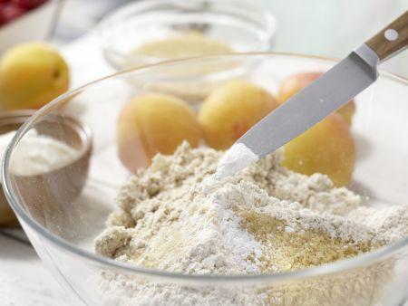 Himbeer-Aprikosen-Tarte: Zubereitungsschritt 1