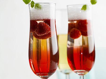 Rezept: Himbeer-Champagner