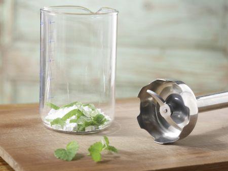 Himbeer-Joghurt-Eis: Zubereitungsschritt 2