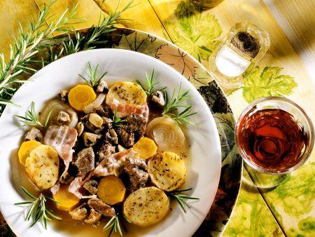 Hirsch-Kartoffeleintopf