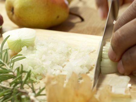 Hirschsteaks aus dem Ofen: Zubereitungsschritt 1